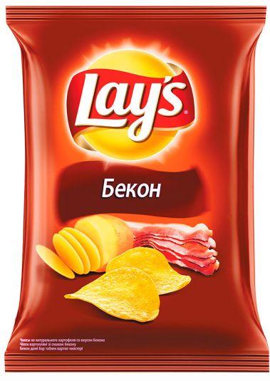 Чипсы Lay's (Бекон), 80 гр